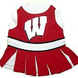 NCAA Wisconsin Cheerleader Dog Dress