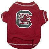 NCAA South Carolina Gamecocks Dog Tee Shirt