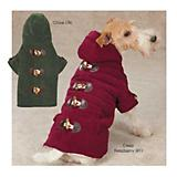 East Side Collection Toggle Dog Coat