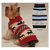 ZZ Arctic Reindeer Dog Sweater