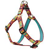 LupinePet Crazy Daisy Step-in Dog Harness