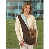 ESC Brown Reversible Sling Pet Carrier