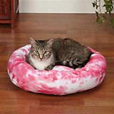 Slumber Pet Cozy Kitty Tie Dye Bed