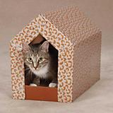 Zanies Scratch N Shack Cardboard Cat Scratcher