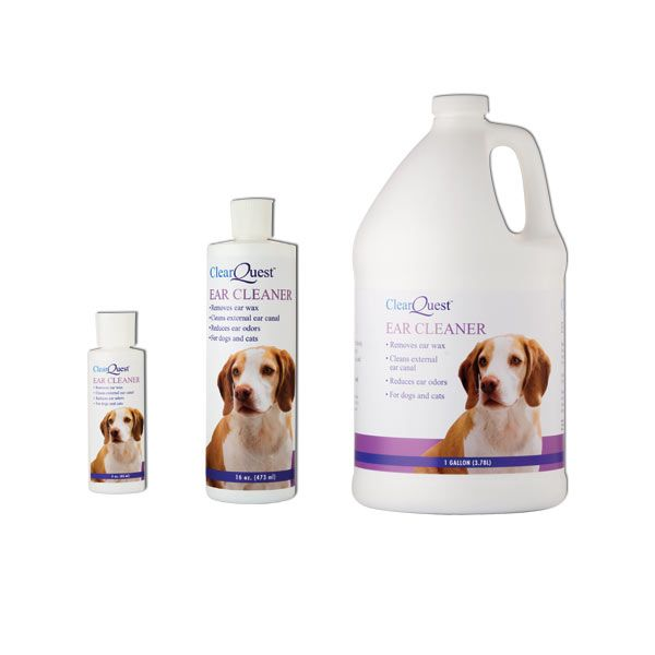 ClearQuest Pet Ear Cleaner Gallon