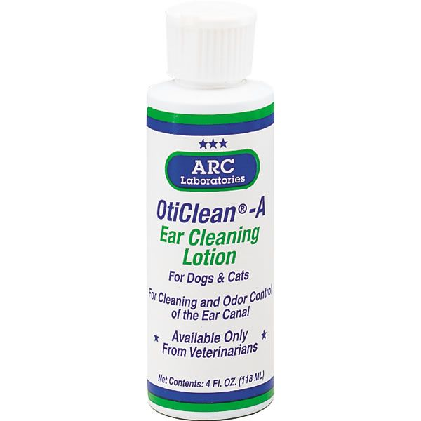 ARC Labs OtiClean A Pet Ear Cleaning Solution 4OZ
