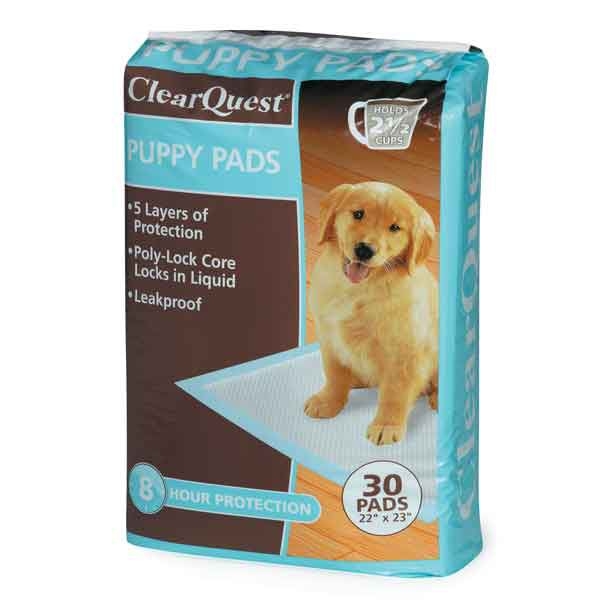 ClearQuest Value Puppy Pads 30 Pack