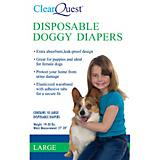 ClearQuest Disposable Doggy Diapers