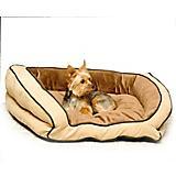 KH Mfg Bolster Couch Mocha Dog Bed