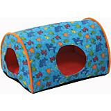 KH Mfg Indoor Kitty Camper Orange Cat Bed