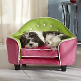 Enchanted Home Pet Pink Headboard Dog Bed