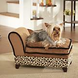 Enchanted Home Pet Leopard Storage Dog Bed