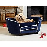 Enchanted Home Pet Ultra Plush Navy Snuggle Bed