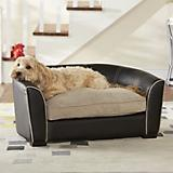 Enchanted Home Pet Black Remy Sofa Dog Bed