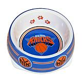 NBA New York Knicks Plastic Dog Bowl