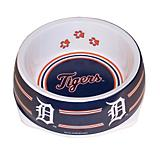 MLB Detroit Tigers Plastic Dog Bowl