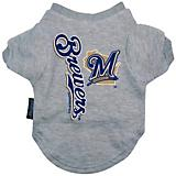 MLB Milwaukee Brewers Dog Tee Shirt