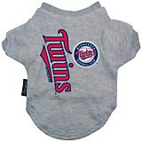 MLB Minnesota Twins Dog Tee Shirt