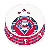 MLB Philadelphia Phillies Plastic Dog Bowl