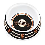 MLB San Francisco Giants Plastic Dog Bowl