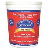 Stewart Freeze Dried Pork Liver Dog Treat