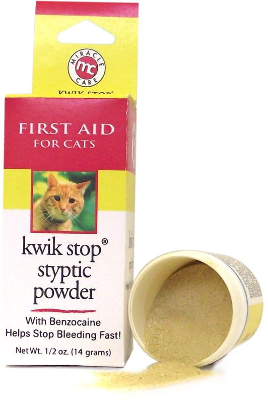 Kwik Stop Styptic Powder for Cats