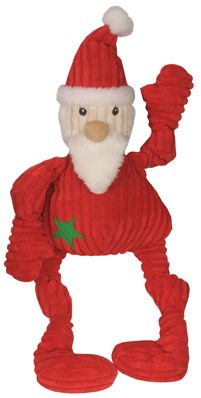 Hugglehounds Holiday Knotties St Nick Dog Toy