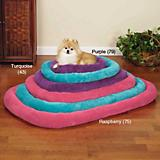 Slumber Pet Bright Terry Dog Crate Bed