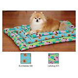 SP Flutter Bugs Canvas Dog Mat