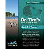 Dr Tims Kinesis Grain Free Dry Dog Food