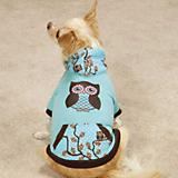 Zack and Zoey Hoot and Howl Dog Pullover