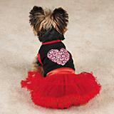East Side Coll Full of Heart Tutu Dog Dress