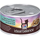Hills Ideal Balance Baked Tuna Can Cat Food