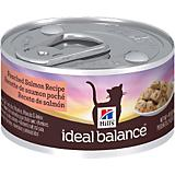 Hills Ideal Balance Poached Salmon Can Cat Food