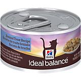 Hills Ideal Balance Braised Trout Can Cat Food