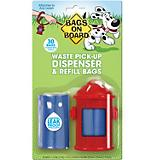 Bags on Board Fire Hydrant Waste Bag Dispenser