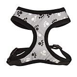 Casual Canine Reflective Pawprint Dog Harness
