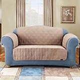 Sure Fit Suede Loveseat Cover for Pets