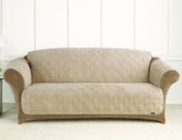 Sure Fit Suede Sofa Cover for Pets Dog