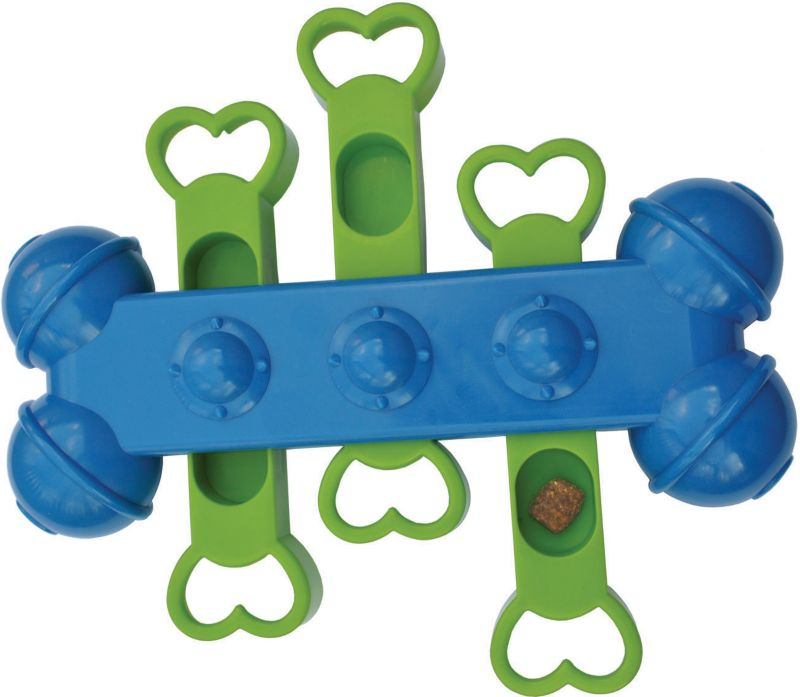 Seek-A-Treat Slide-N-Play Dog Puzzle Toy