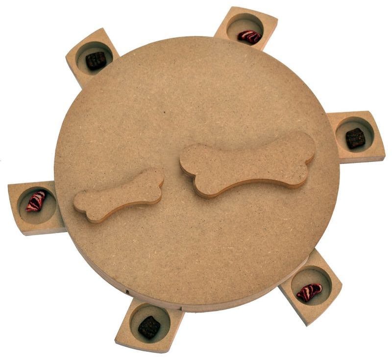 Seek-A-Treat Twist-A-Bone Dog Puzzle Toy