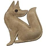 SPOT Dura-Fused Leather Fox Dog Toy