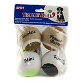 SPOT Flavored Tennis Balls Dog Toy 4-Pack