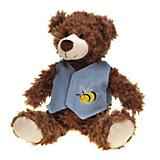 Grriggles Flutterbugs Bear Dog Toy