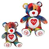 Grriggles Rainbow Love Bear Dog Toy