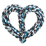 Grriggles Braided Rope Heart Dog Toy