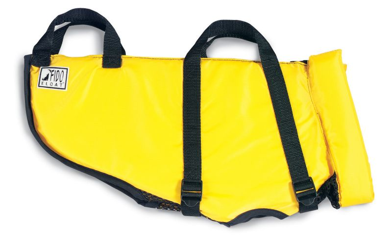 Fido Float Dog Lifejacket Large