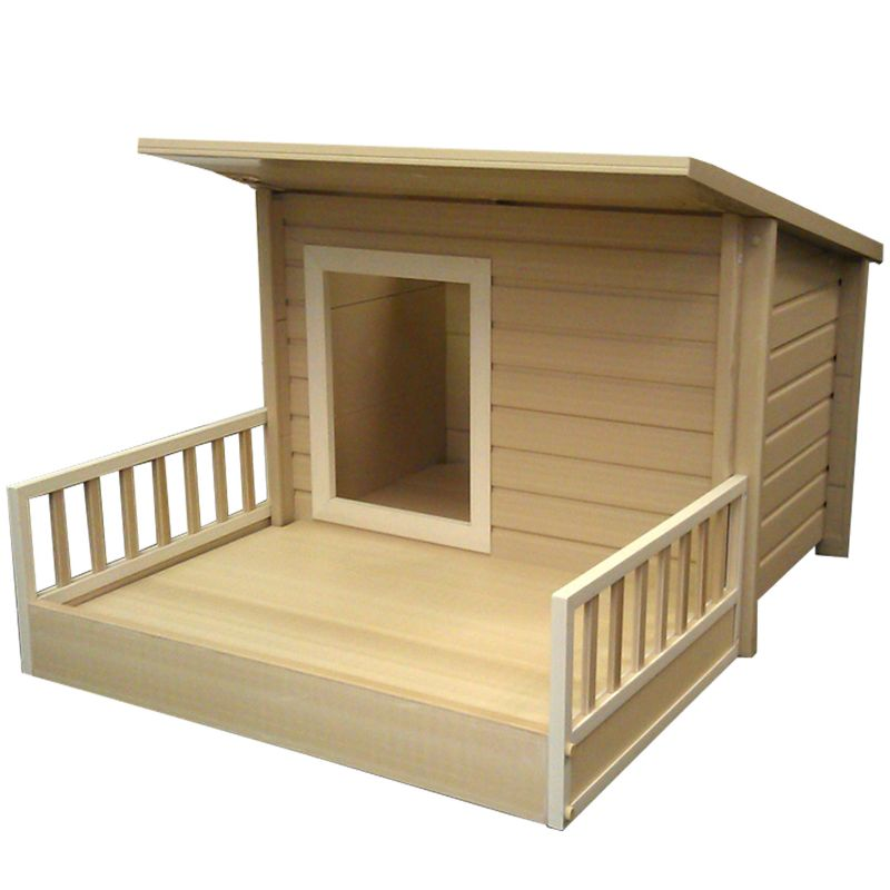 New Age Pet Santa Fe Chalet Medium Dog House