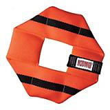 KONG Fire Hose Ballistic Square Medium Dog Toy
