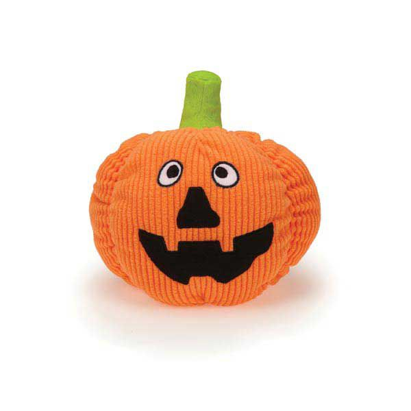 Zanies Playful Pumpkin Dog Toy